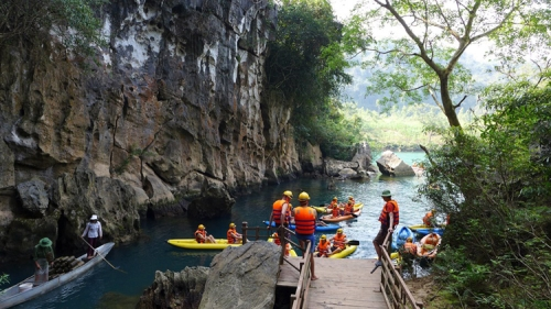 Phong Nha Cave And Dark Cave Tour
