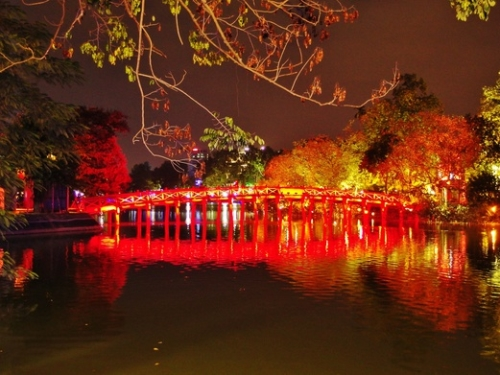 Hoan Kiem Lake and Ngoc Son